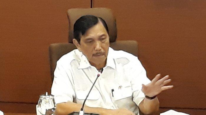 Menteri Koordinator Bidang Kemaritiman Indonesia, Luhut Binsar Panjaitan. (Theresia Felisiani/Tribunnews.com)