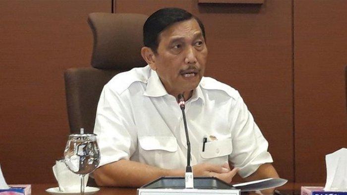 Menteri Koordinator Bidang Kemaritiman Luhut Binsar Pandjaitan di Jakarta, Selasa (2/7/2019). MUTIA FAUZIA