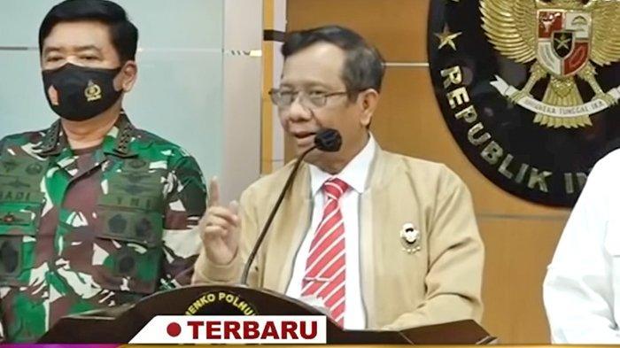 SBY Dituding Dalang Demo UU Ciptaker, Mahfud MD Heran Diminta Klarifikasi : Kapan Kami Bilang Begitu