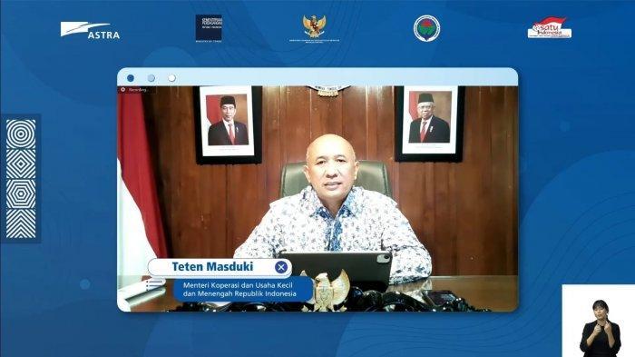 Menteri Teten Ajak Milenial Berwirausaha Bantu Buka Lapangan Kerja