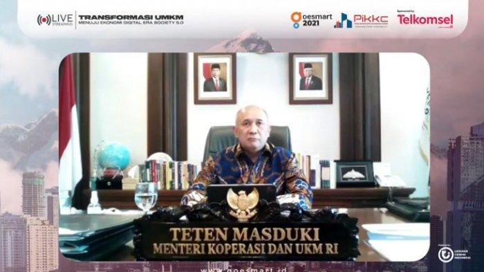 Menteri Teten: Digitalisasi Mempermudah Akses Pembiayaan UMKM