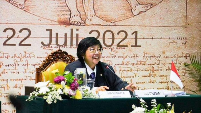 Menteri LHK Siti Nurbaya: G20 Menjadi Katalis Global Pencapaian SDGs dan Pemulihan Lingkungan