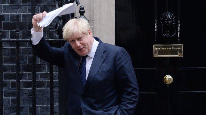Menteri Luar Negeri Inggris Boris Johnson.