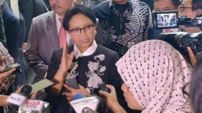 Respons Menteri Luar Negeri Retno Marsudi Saat Ditanya Soal Pencekalan Habib Rizieq Shihab