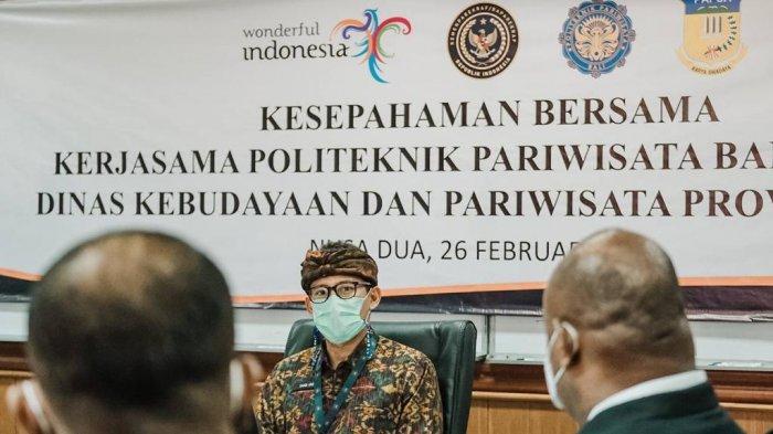 Menparekraf Sandiaga Uno Dukung Penuh Pembangunan Politeknik Pariwisata Papua