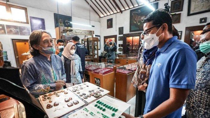 Menparekraf Dorong Kerajinan Perak Yogyakarta Kembali Berjaya