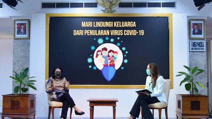Ibu Rumah Tangga dan Organisasi Perempuan Ujung Tombak Tekan Penularan Dalam Klaster Keluarga