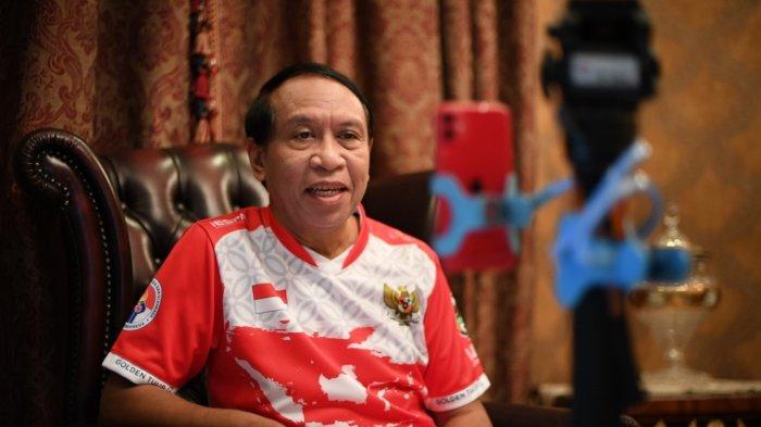 Menteri Pemuda dan Olahraga (Menpora) Zainudin Amali melakukan bincang santai sekaligus ngabuburit di bulan Ramadan bersama dr. Lathiifa Hendy melalui ngobrol online. Kegiatan ini dilakukan di kediaman Menpora, Jatiwaringan, Jakarta Timur, Sabtu (2/5/2020).