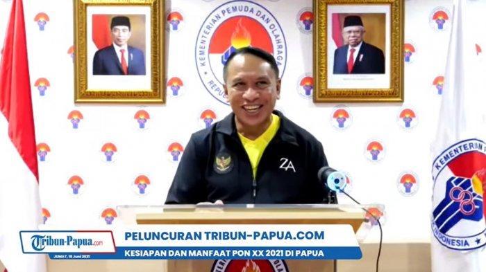 Menteri Pemuda dan Olahraga (Menpora) Zainudin Amali