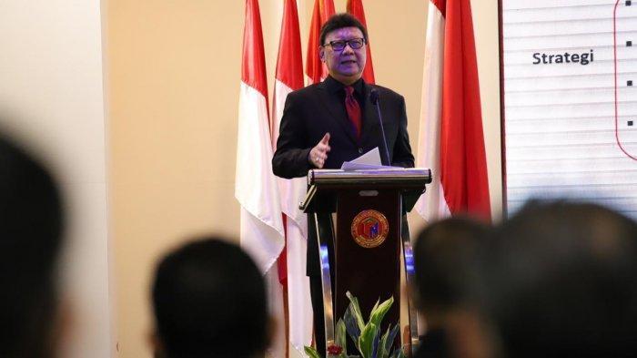 Diklatpim I LAN, Menteri Tjahjo Bicara Tantangan Pemimpin Harus Beradaptasi dengan Teknologi