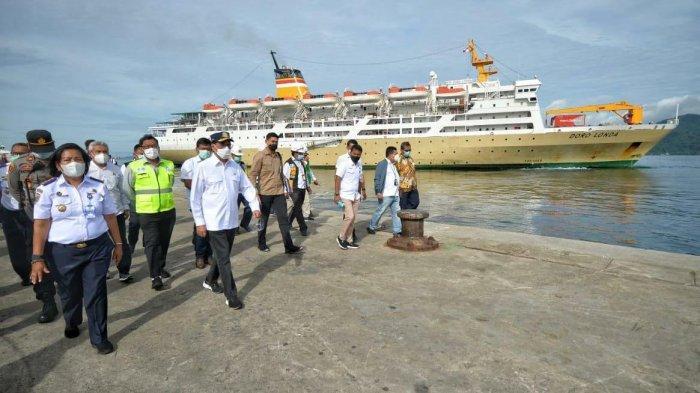 Menhub Pastikan Protokol Kesehatan di Pelabuhan Yos Sudarso Berjalan Baik