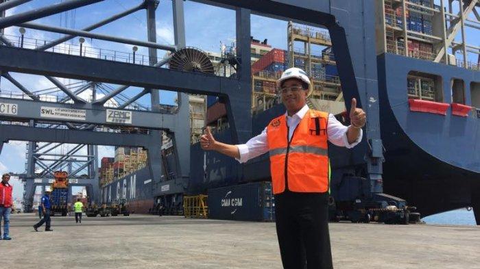 Pelabuhan Tanjung Priok Jadi Hub Internasional