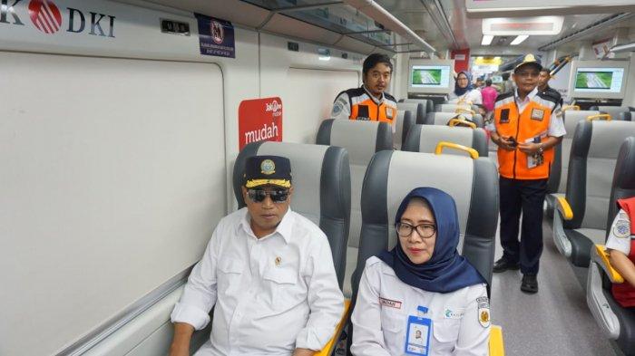 Kereta Bandara Diuji Coba Sampai Ke Bekasi