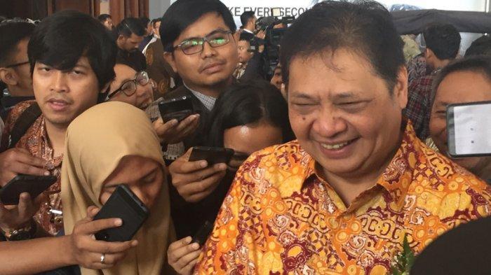 Kemungkinan Demokrat Gabung Koalisi Jokowi-Ma'ruf, Airlangga: Bisa Memperkuat di Parlemen