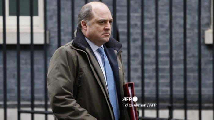 Menteri Pertahanan Inggris Ben Wallace