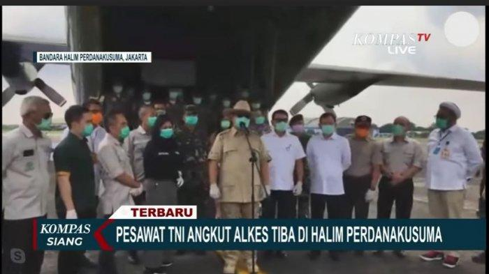 Apresiasi Tenaga Medis Tangani COVID-19, Prabowo Subianto Sebut Dokter Pahlawan Bangsa
