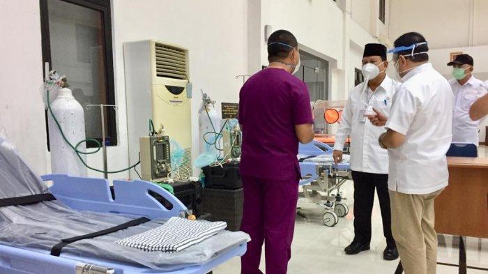 Prabowo Cek Kesiapan 2 Lokasi untuk Bantu RS dr Suyoto Tangani Lonjakan Pasien Covid-19