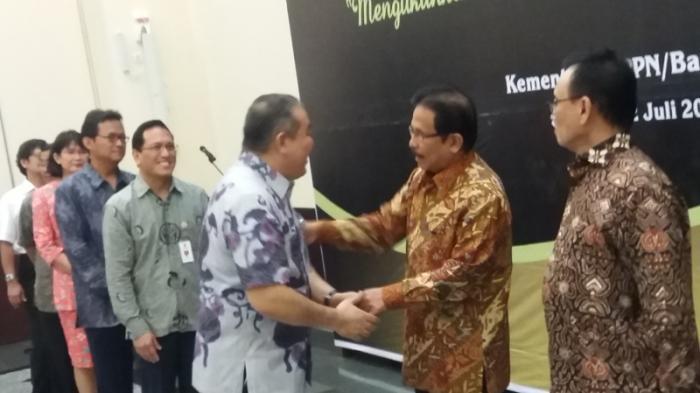 Bernuansa Batik, Kementerian PPN/ Bappenas Gelar Acara Halal Bi Halal.