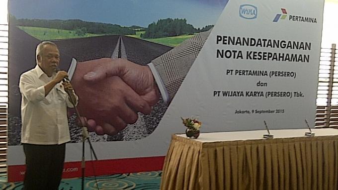 Menteri Basuki Menilai Dosa Besar Ekspor Aspal Buton