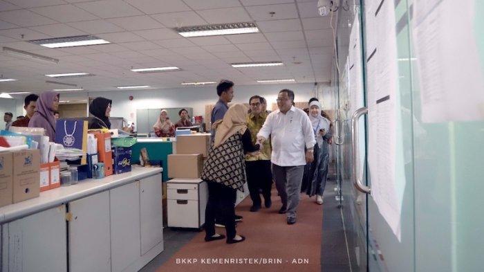 Tujuan Menristek Bambang Brodjonegoro Blusukan Setiap Lantai di Kantor