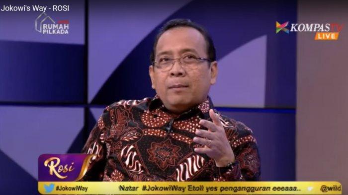 Menteri Sekretaris Negara Pratikno salam program Rosi #Jokowi's Way, Kamis (12/10/2017),
