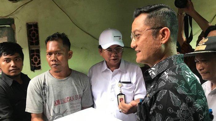 Mensos Juliari Batubara Santuni Keluarga Bocah yang Dibunuh Siswi SMP, Harap Para Warga Rukun Lagi