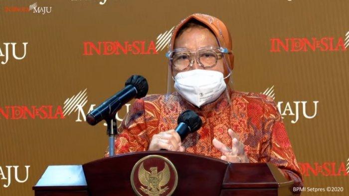 Menteri Sosial Tri Rismahari menyebut akan merealisasikan bansos mulai 4 Januari 2021, melarang masyarakat membelanjakan rokok.