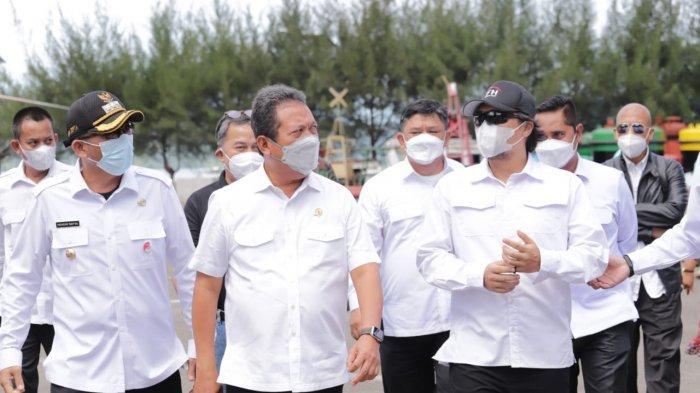 Potensi Tuna Besar, Menteri Trenggono Minta Aktivitas Usaha di PPS Bungus Ditingkatkan