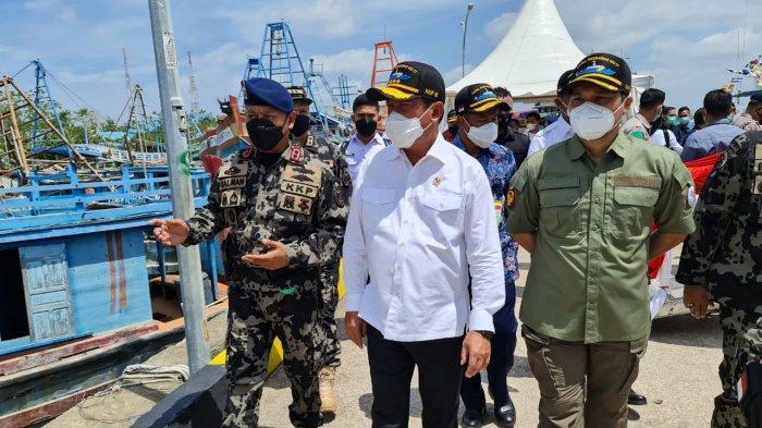 Diresmikan Menteri Trenggono, Kapal Baru KKP Siap Perangi Pencuri SDA Laut