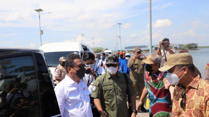 Menteri Trenggono Berharap Pelabuhan Perikanan Dorong Pertumbuhan Ekonomi
