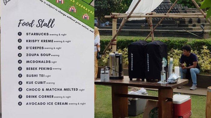 Viral Catering Pernikahan Seperti Festival Kuliner, Ada Starbucks, McDonalds, hingga Sushi Tei