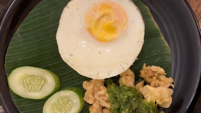 Salah satu menu Rumah Makan Limarasa.