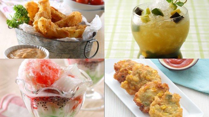 Menu Takjil untuk Buka Puasa: Kentang Goreng Ala Restoran hingga Es Kelapa Campur yang Nikmat