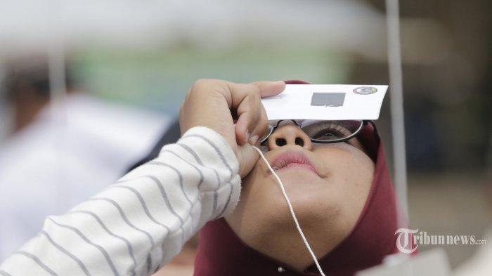 Cuma Ada 13 Kota di Jawa Tengah yang Bisa Saksikan Gerhana Matahari Cincin 21 Juni, Ini Daftarnya