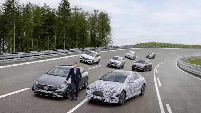 Mercedes-Benz Targetkan Seluruh Segmen Mobil Miliki Model BEV pada 2022