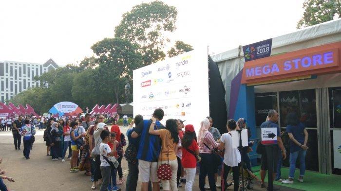 Asian Para Games 2018, Calo Berkeliaran Jual Tiket Terusan di GBK