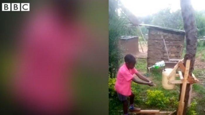 Kisah Inspiratif Bocah 9 Tahun Asal Kenya Ciptakan Mesin Cuci Tangan Untuk Cegah Penularan Covid-19