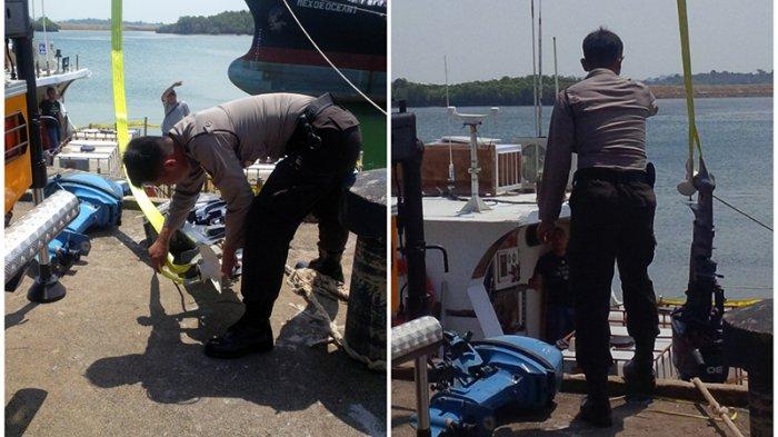 Polisi Copot Tiga Mesin Kapal Wanderlust yang Bawa Satu Ton Sabu