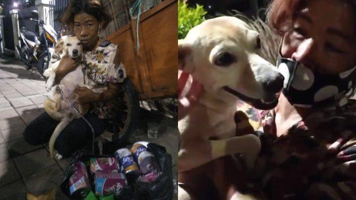 Viral Kisah Ibu Balqis yang lebih memilih anjing peliharaannya daripada uang, meskipun hanya hidup di sebuah gerobak.