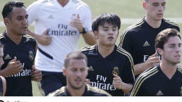 Messi Jepang, Takefusa Kubo turut serta di latihan pramusim Real Madrid dibawah pimpinan Zinedine Zidane.