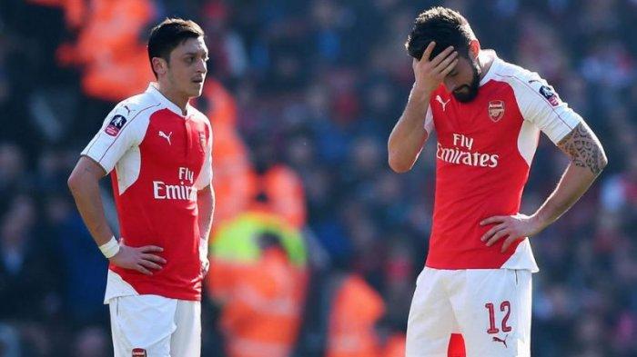 Olivier Giroud Mengaku Sering Diejek Mesut Ozil saat Masih di Arsenal, 'Aku Juara Piala Dunia'