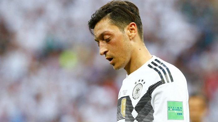 Merasa Kecewa, Mesut Ozil Pensiun Dini dari Timnas Jerman