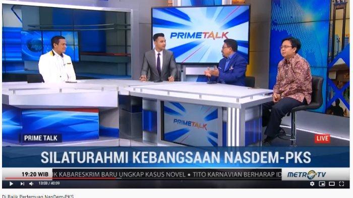 Nasdem dan PKS Bertemu, Zulfan Lindan: Tidak Ada Koalisi yang Utuh