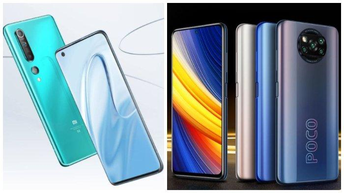 Daftar Harga HP Xiaomi Terbaru April 2021: Mi 10, Redmi Note 10 hingga Poco X3 Pro