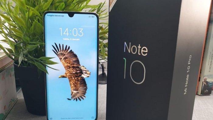 Daftar harga dan spesifikasi hp ponsel smartphone terbaru di Indonesia 2020 Xiaomi mi note pro lengkap mulai satu jutaan Mi Note 10 Pro Rp 6,9 Jutaan