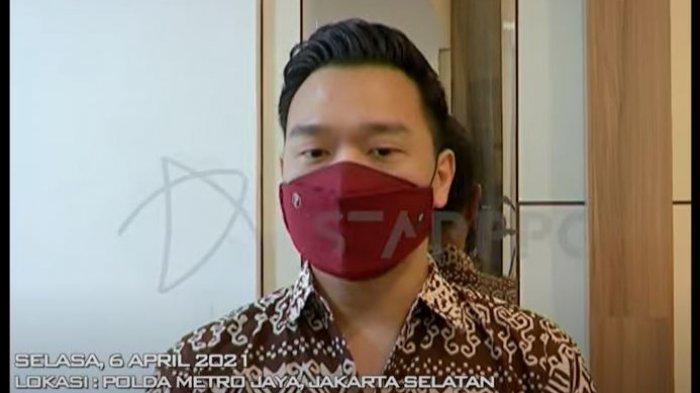 Michael Yukinobu saat dikonfirmasi oleh awak media