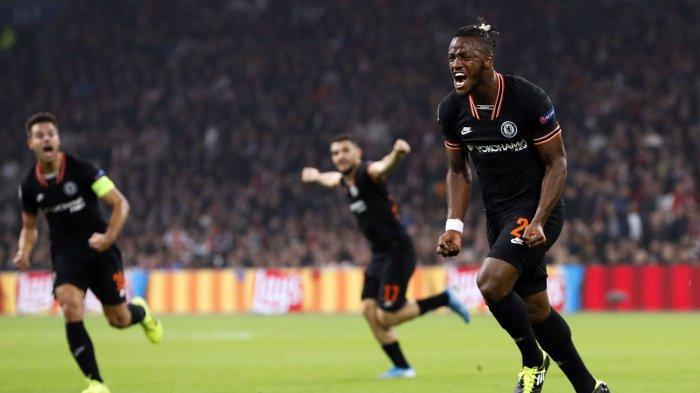 Ajax Amsterdam vs Chelsea: Michy Batshuayi Bawa Chelsea Menang 1-0