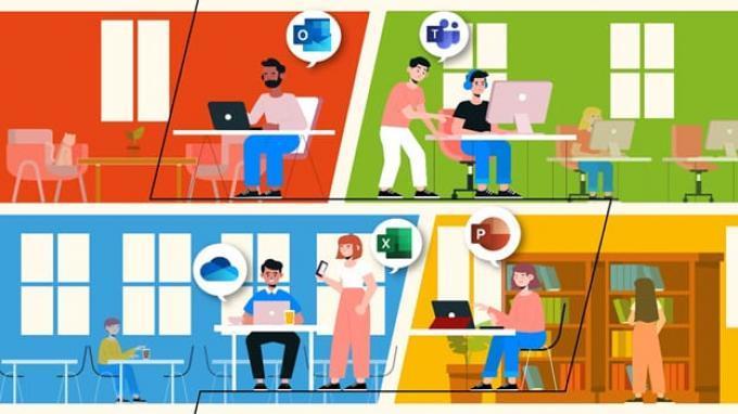 Dilengkapi Fitur Video Call, Microsoft 365 Maksimalkan Produktivitas Bekerja dan Belajar Online