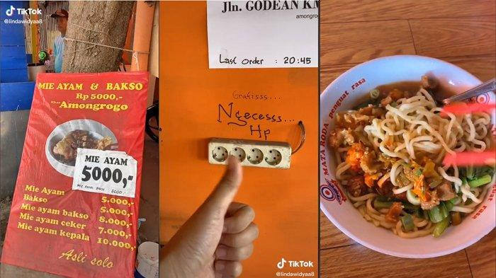 Setelah Viral Salon Murah, Sekarang Ada Mie Ayam Cuma Rp 5 Ribu di Jogja, Pembeli: Rasanya Enak