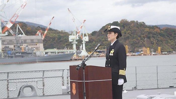 Miho Otani (48), kapten kapal wanita pertama Jepang untuk kapal laut tempur Aegis